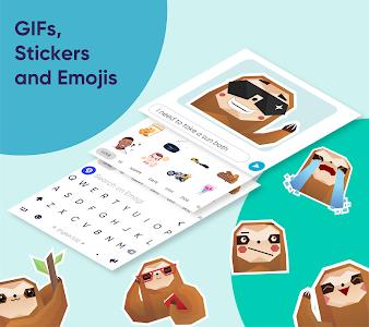 Fleksy: Fast Keyboard + Stickers, GIFs & Emojis 9.8.4