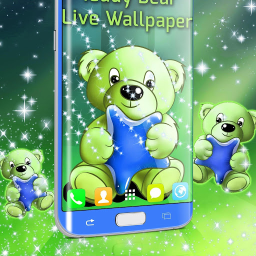 Teddy Bear Live Wallpaper screenshot 2