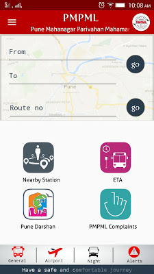 Pune PMPML Official App - screenshot