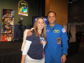 Photo: Angela & Joe - NASA HQ Auditorium