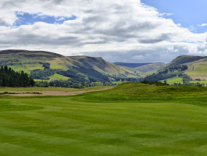 Photo: Lovely view up Gleneagles