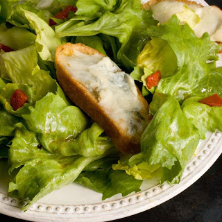 Escarole Salad with Blue Cheese Toasts