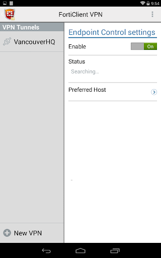 FortiClient VPN 6.2.3.0332 screenshots 9
