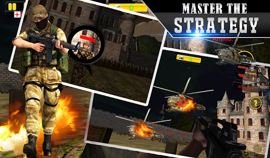Lone Sniper Army Shooter 3D screenshot 01