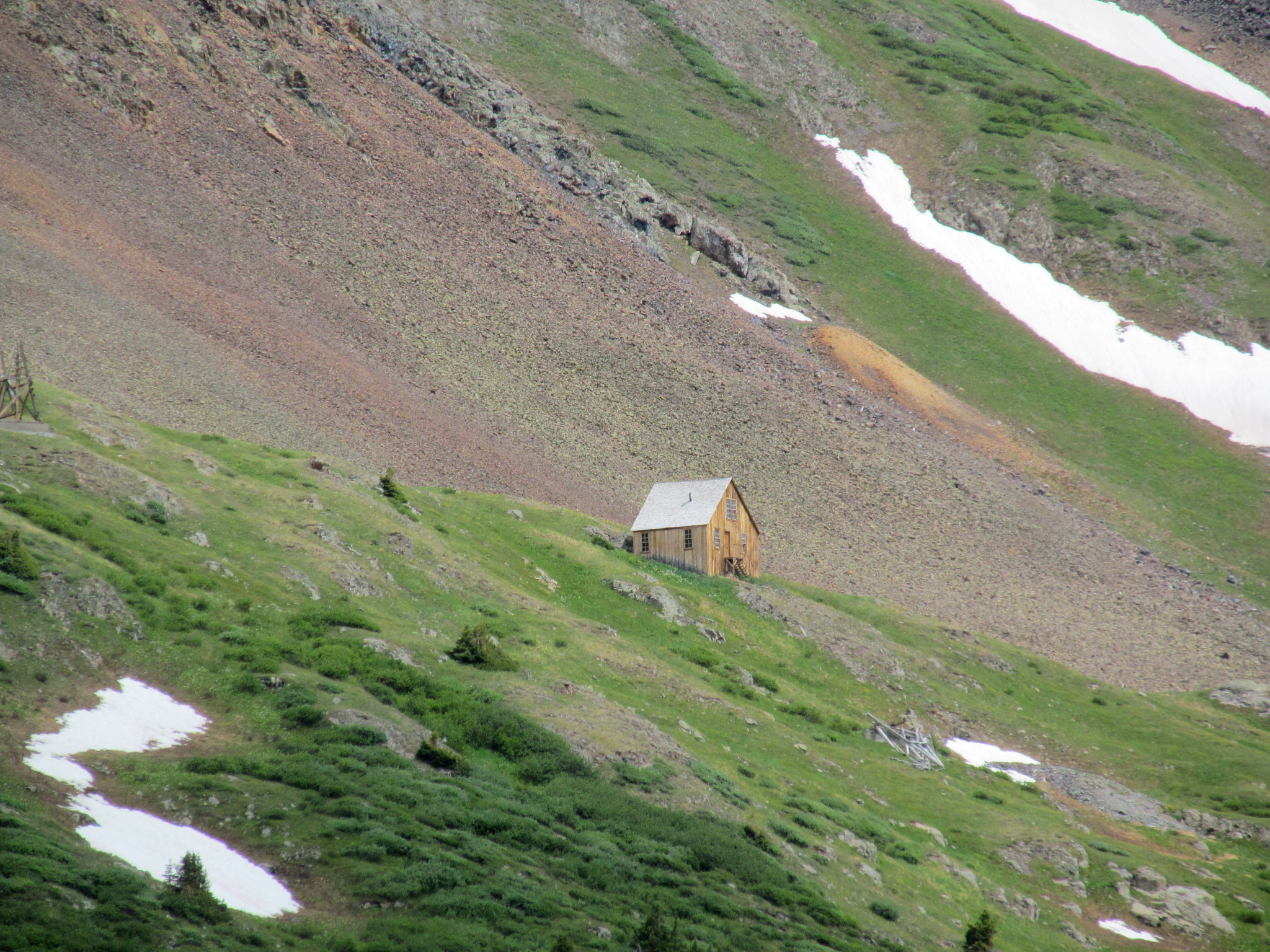 Photo: Placer Gulch cabin
