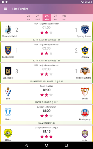 Lite Predict - Football Prediction Tips Version 4.1 Wing screenshots 11