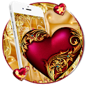 Luxury Royal Heart Theme icon