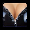 Undress Zipper Lock Screen icon
