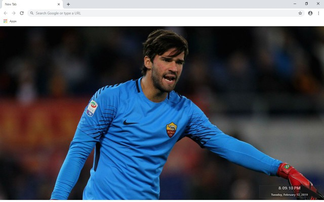 Alisson New Tab & Wallpapers Collection