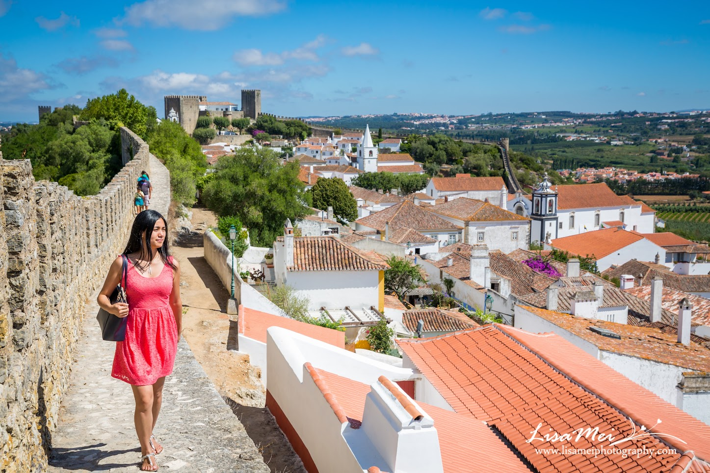 The pictureque village of Obidos