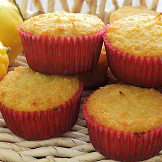 Paleo Lemon-Coconut Muffins