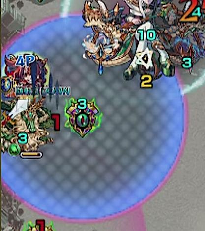 防御ダウンフィールド