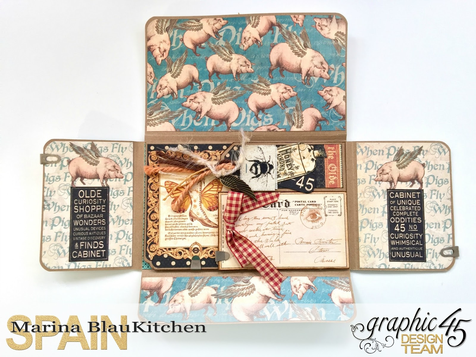 Olde Curiosity Shoppe Flip Flap Mini Album by Marina Blaukitchen Product by Graphic 45 photo 5.jpg