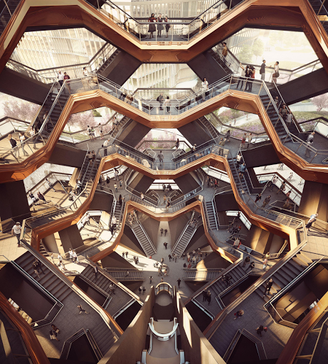 Thomas Heatherwick created Vessel for Hudson Yards