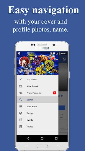 Lite Messenger for Facebook Lite 3.1 screenshots 2