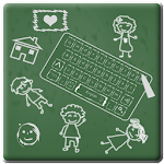 Chalk Board Keyboard Theme Icon