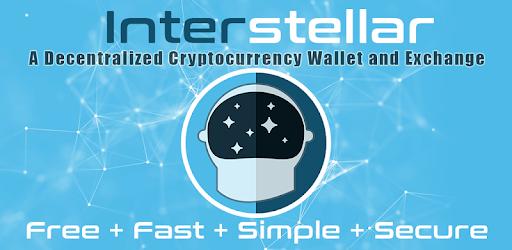 Interstellar - Stellar Lumens XLM Wallet and SDEX - Apps on