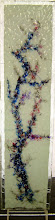 Photo: 'Trial Tree', 2010 - shattered laminated glass - 11x45cms - SALE PRICE £80