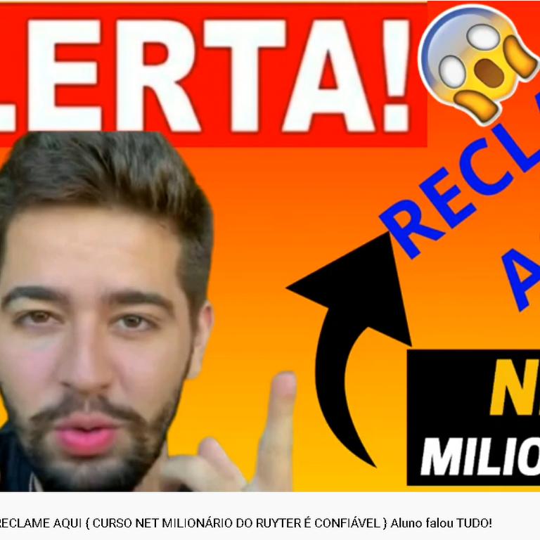curso net milionário e confiável
