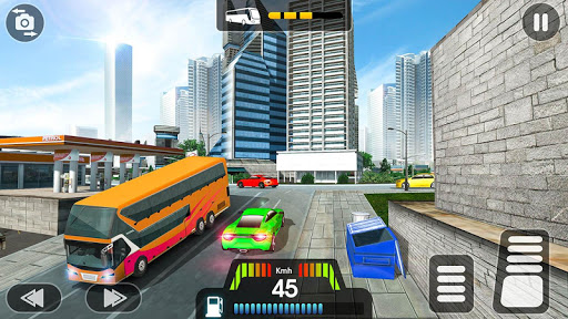 City Coach Bus Simulator 2020 - PvP Free Bus Games apkdebit screenshots 2