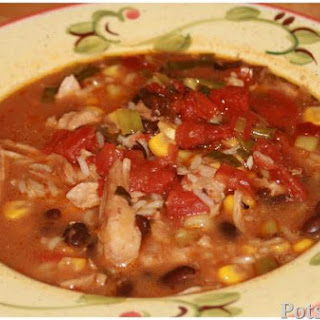 Baja Chicken Enchilada Soup