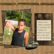 Photo: Created 3/9/07 using Marcee Duggar's Cold Blooded Kit. Beige paper is from Eva Kippler's Educated Mind Kit.