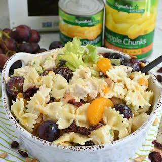 Chicken Pasta Salad Pineapple Recipes.