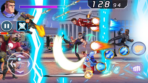 Captain Revenge - Fight Superheroes apkmr screenshots 12