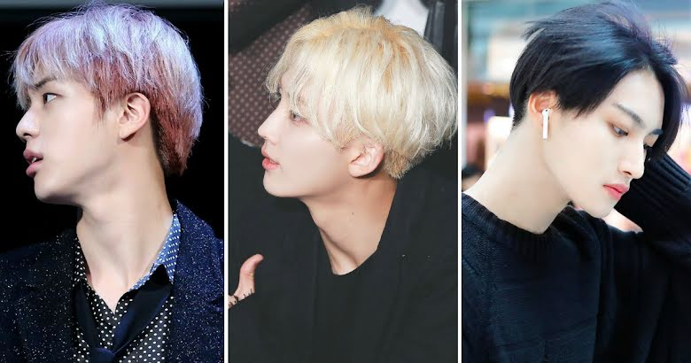 20 Male K Pop Idols Who Have The Softest Most Slender Jawlines Koreaboo