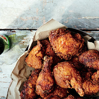 Glazed Fried Chicken with Old Bay and Cayenne
