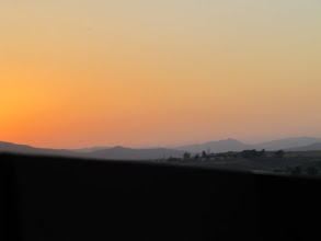 Photo: Day 131 - Sunrise Viewed from the Coach (Northern Turkey)