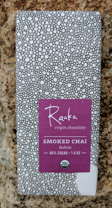66% raaka with smoked chai bar