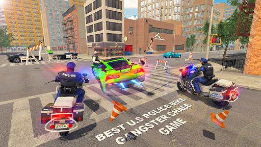 US Police Bike 2019 - Gangster Chase Apk 2