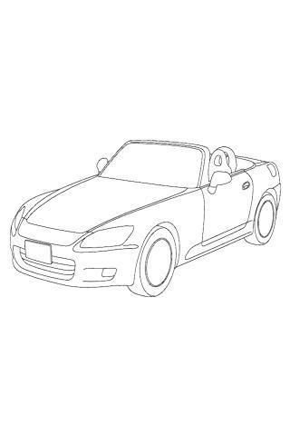 如何繪製賽車