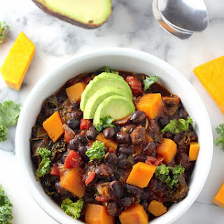 Spicy Sriracha Black Bean and Butternut Squash Chili Recipe