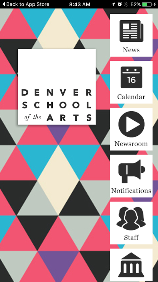 Denver School of the Arts- screenshot
