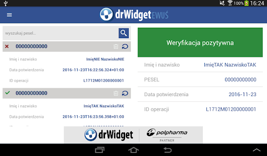 DrWidget eWUŚ- screenshot thumbnail