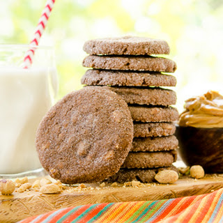 Mexican Chocolate Peanut Butter Cookies