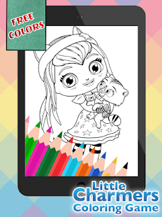 Colouring Charmer Little Girls - Android Apps on Google Play