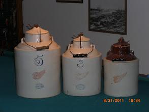 Photo: Red Wing Apple Sauce Jars, 5,,3,,2,,Gallon
