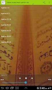 Tafseer Suratun Nisa'i (01-43) - náhled