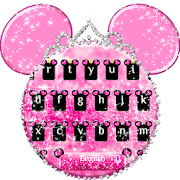 App Pink Cute Minny Bowknot Keyboard Theme APK for Windows Phone