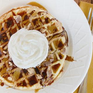 SNICKERS® Peanut Butter Dessert Waffles
