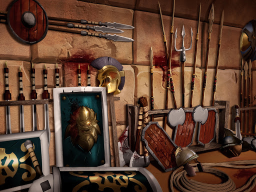 Gladiator Heroes Clash: Fighting and strategy game  screenshots 14
