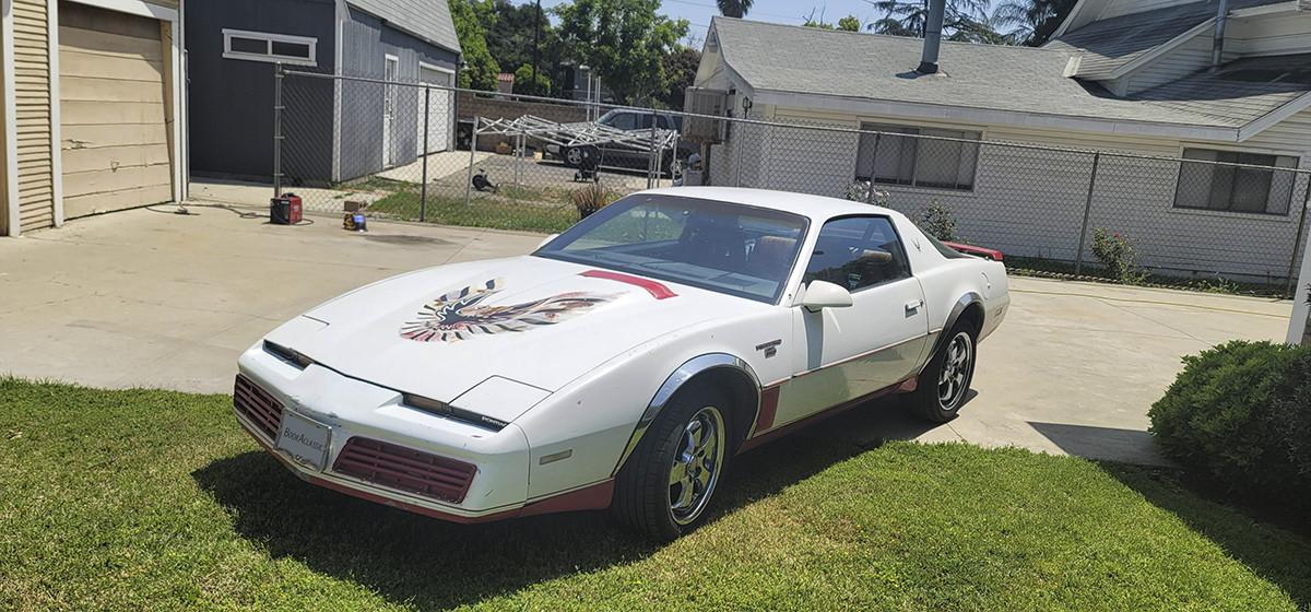 Pontiac Trans Am Hire Pomona