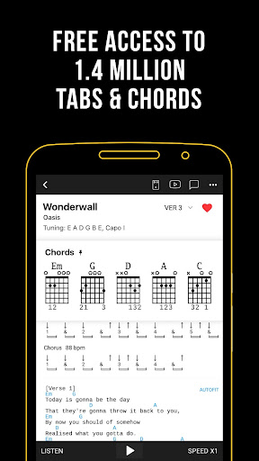 Ultimate Guitar: Chords & Tabs Aplicaciones (apk) descarga gratuita para Android/PC/Windows screenshot