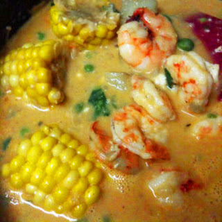 Chupe de Camarones (Peruvian Shrimp Chowder).