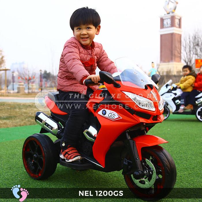 Moto điện 3 bánh cho bé NEL-1200GS 10