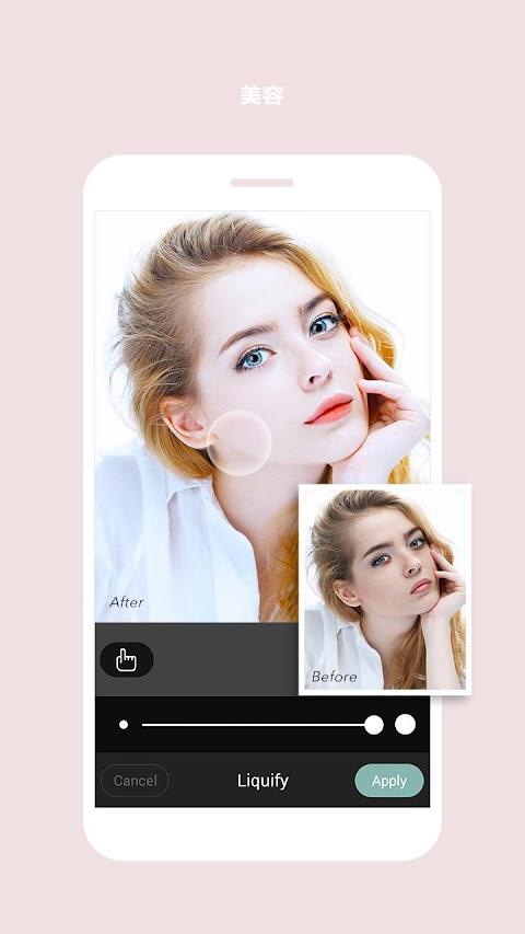 Cymera Camera-写真&ビューティーエディタ Beauty Filter, Collageのおすすめ画像4
