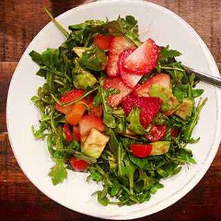 The Easiest Strawberry Avocado Salad